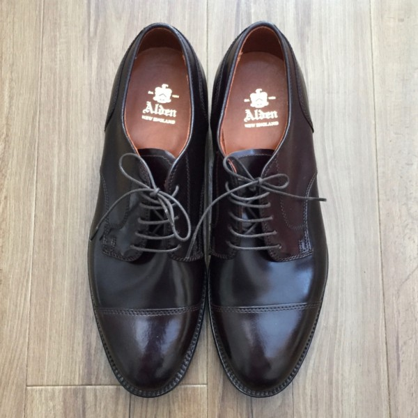 Color8 (Dark Burgundy) Shell Cordovan Straight Tip 2160