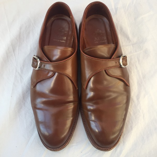 Whiskey Shell Cordovan Monk Strap 1683