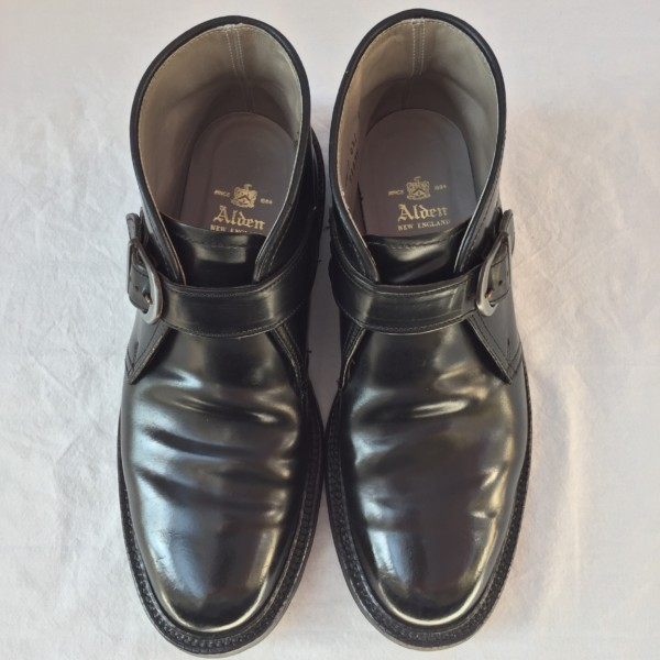 Black Shell Cordovan George Boot 9163Y