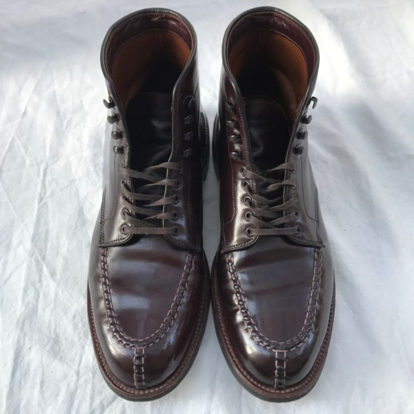 Color8 (Dark Burgundy) Shell Cordovan Tanker Boot 40349HC