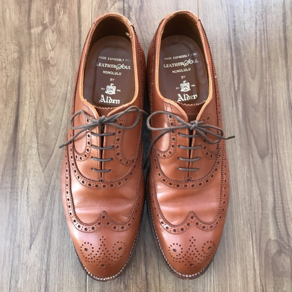 Brown Calf Wingtip Balmoral 92701