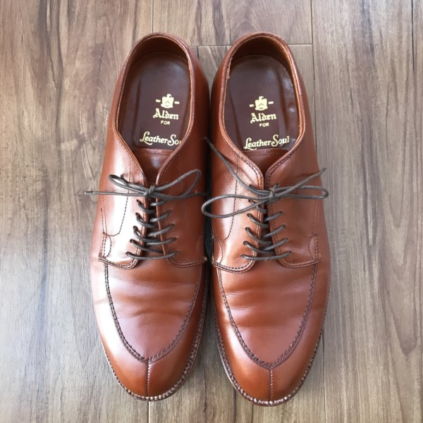 Brown Calf V-tip 87155