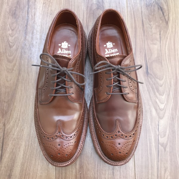 Ravello Shell Cordovan Long Wing Blucher 97504 (2014)