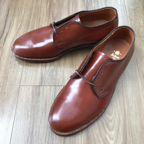 Color4 Shell Cordovan 4×4 Plain Toe Blucher 26434 by Leather Soul (2010)