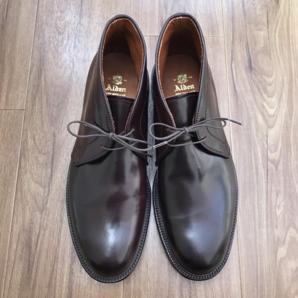 Color8 (Dark Burgundy) Shell Cordovan Chukka Boot 1339