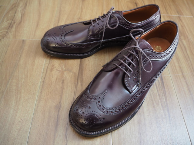 Color8 Shell Cordovan Long Wing Blucher N6507 by ISETAN (2017)