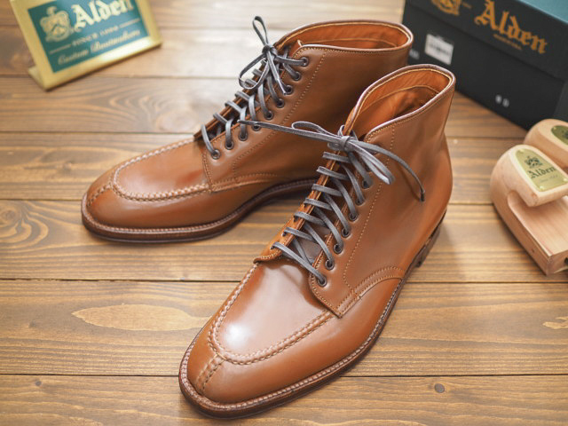 Whiskey Shell Cordovan Tanker Boot D8915 by Alden of Washington DC (2018)
