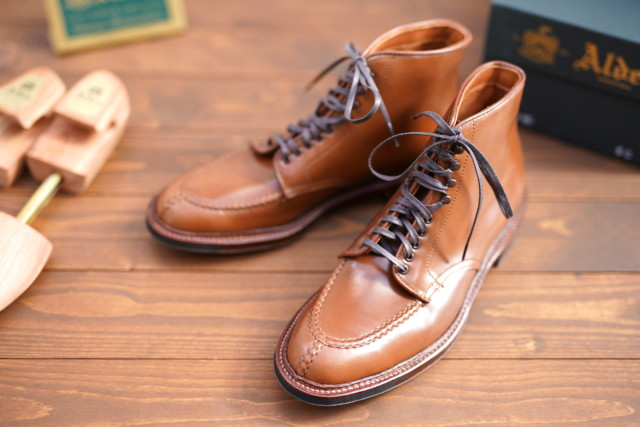 Whiskey Shell Cordovan Tanker Boot D8908HC by Alden of Madison (2018)