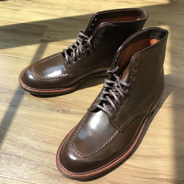 Cigar Shell Cordovan Indy Boot 40566C by The Shoe Mart (2016)
