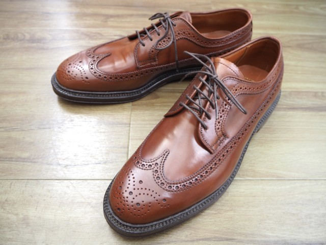 Ravello Shell Cordovan Long Wing Blucher 9750 by Alden San Francisco (2012)