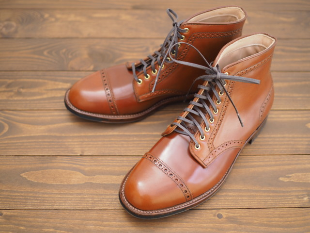 Amaretto Shell Cordovan Jumper Boot D7846C by CITISHOES (2018)