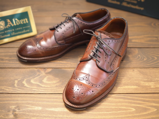Color4 Shell Cordovan Atom Blucher 31312 by Leffot (2011)
