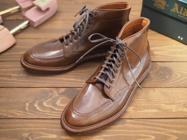 Ravello Shell Cordovan U-Tip Boot D8906 (AC-4) by Alden of Carmel (2018)
