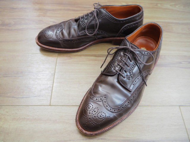 Cigar Shell Cordovan Short Wing Blucher D5509 by Alden of Madison (2015)