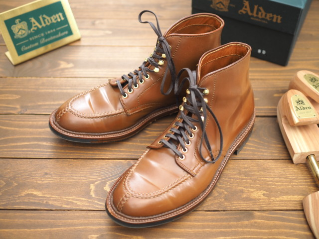 Whiskey Shell Cordovan Tanker Boot D7914HC by CITISHOES (2017)