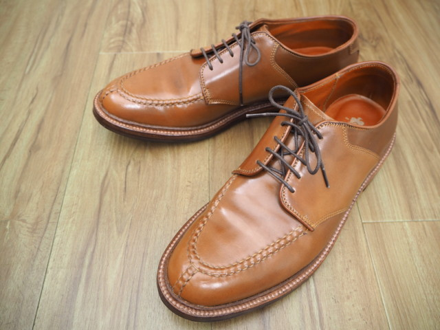 Whiskey Shell Cordovan Saddle NST AC-1 (D6603) by Alden of Carmel (2016)