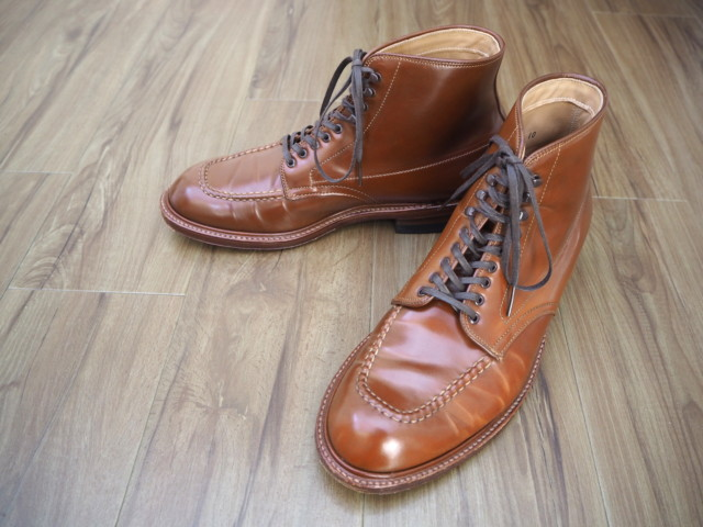 Whiskey Shell Cordovan Indy Boot 40527H (2012)