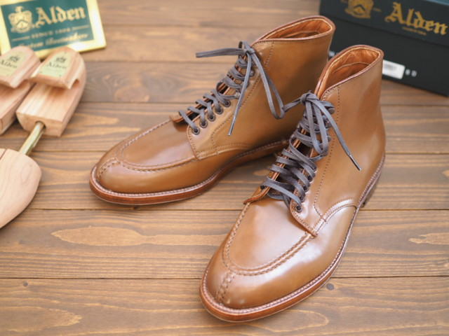 Whiskey Shell Cordovan Tanker Boot A8904H by Unipair (2018)[Unworn]