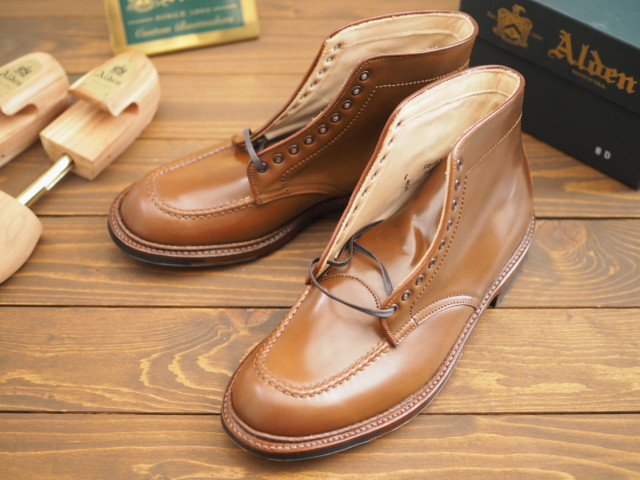 Whiskey Shell Cordovan Indy Boot D8822C by Carroll&Co (2018)
