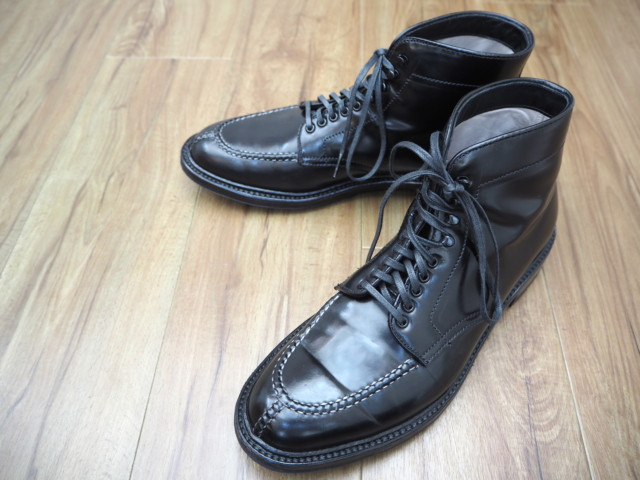 Black Shell Cordovan Tanker Boot 40219HC by Alden of Madison (2017)
