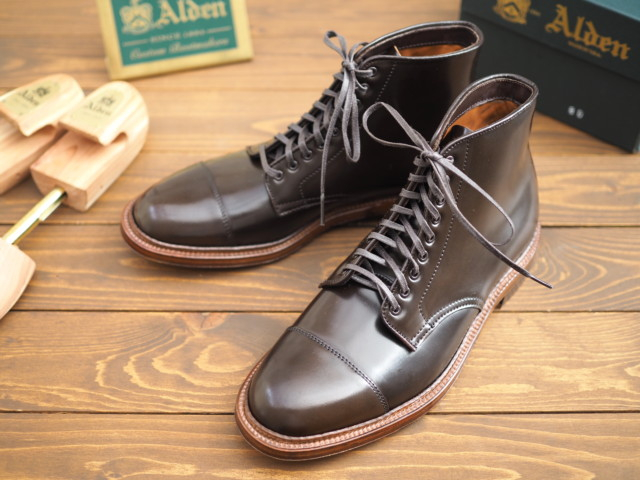 Cigar Shell Cordovan Cap Toe Boot 4074 by Alden of Madison (2018)