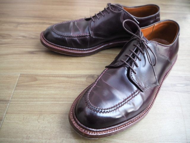 Color8 Shell Cordovan U-Tip Saddle AOC-66 (D7604) by Alden of Carmel (2017)