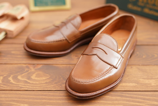 Whiskey Shell Cordovan Leisure Handsewn Moccasin 6746 by H. Stockton (2018)