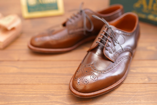 Ravello Shell Cordovan Short Wing Blucher D8519 by Alden of Madison (2019)
